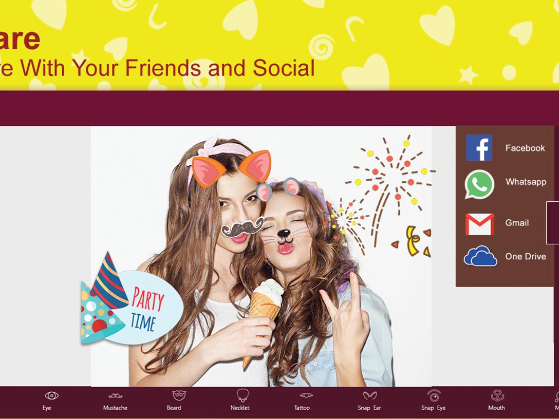 Snap Face for DIY Snap Photo and Chat:Snap Face for DIY App