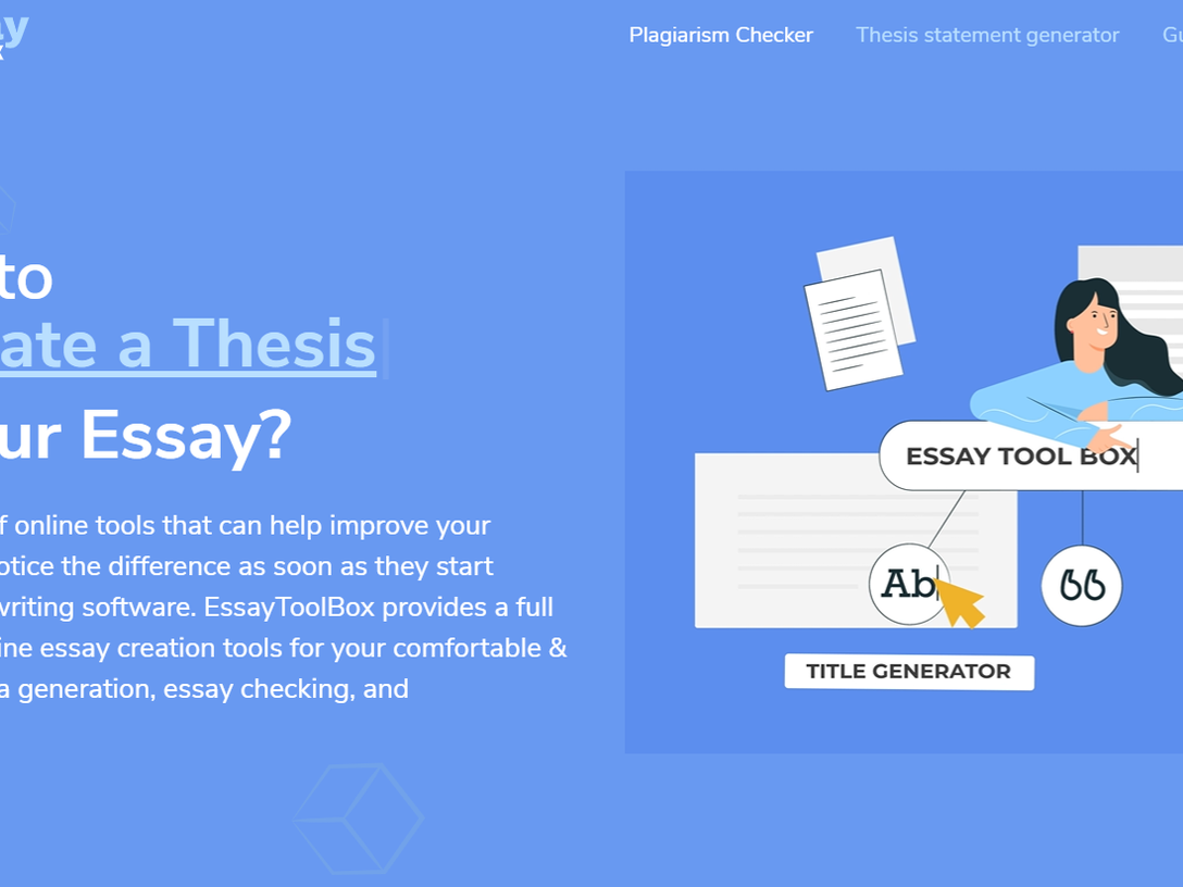 Essay ToolBox