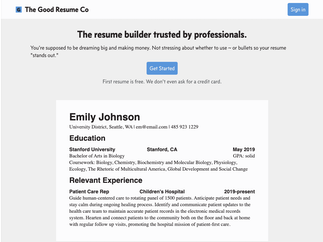 The Good Resume Co