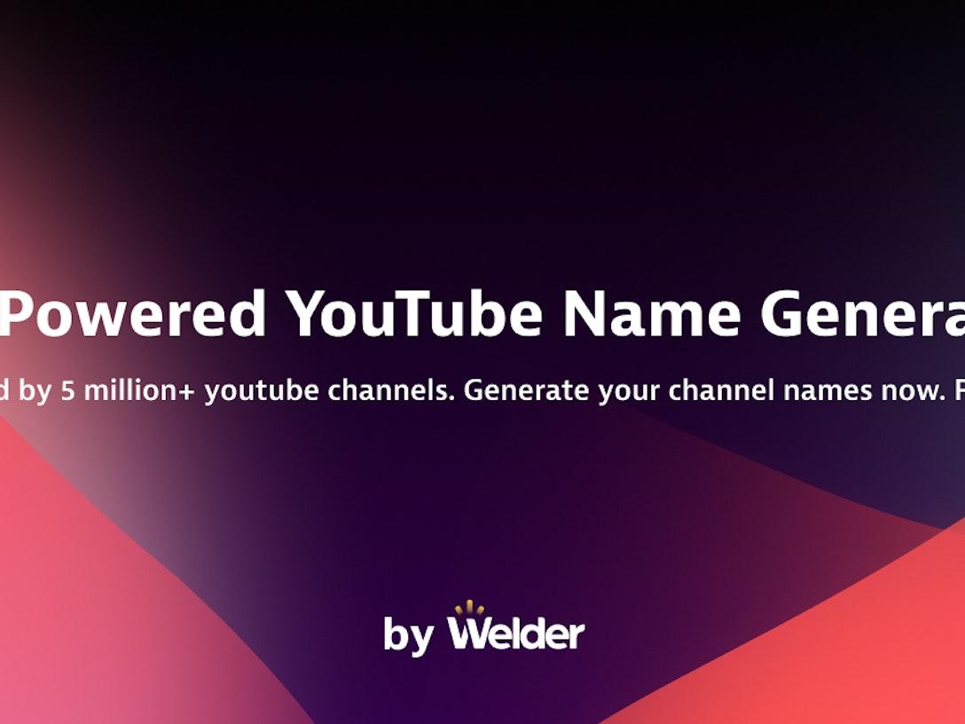 AI-Powered YouTube Name Generator