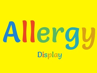 Allergy Display
