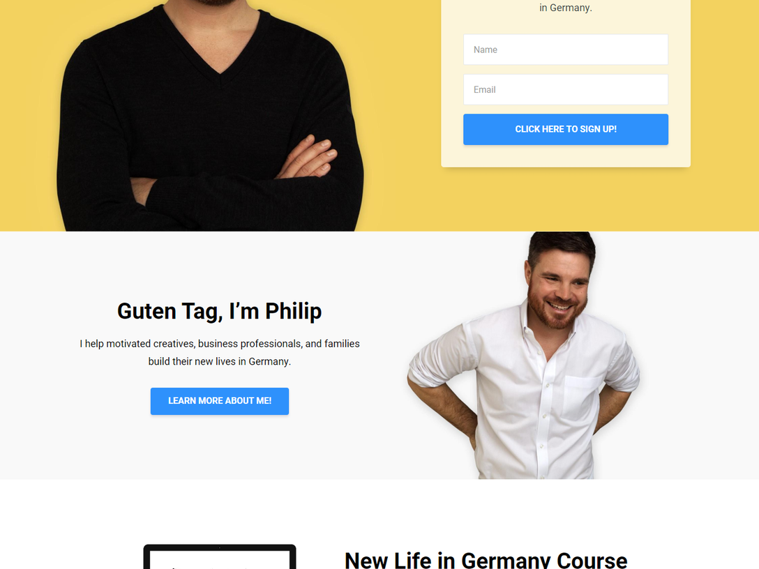 New Life in Germany