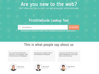 First Site Guide