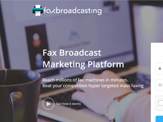 Fax Broadcasting Marketing Platform