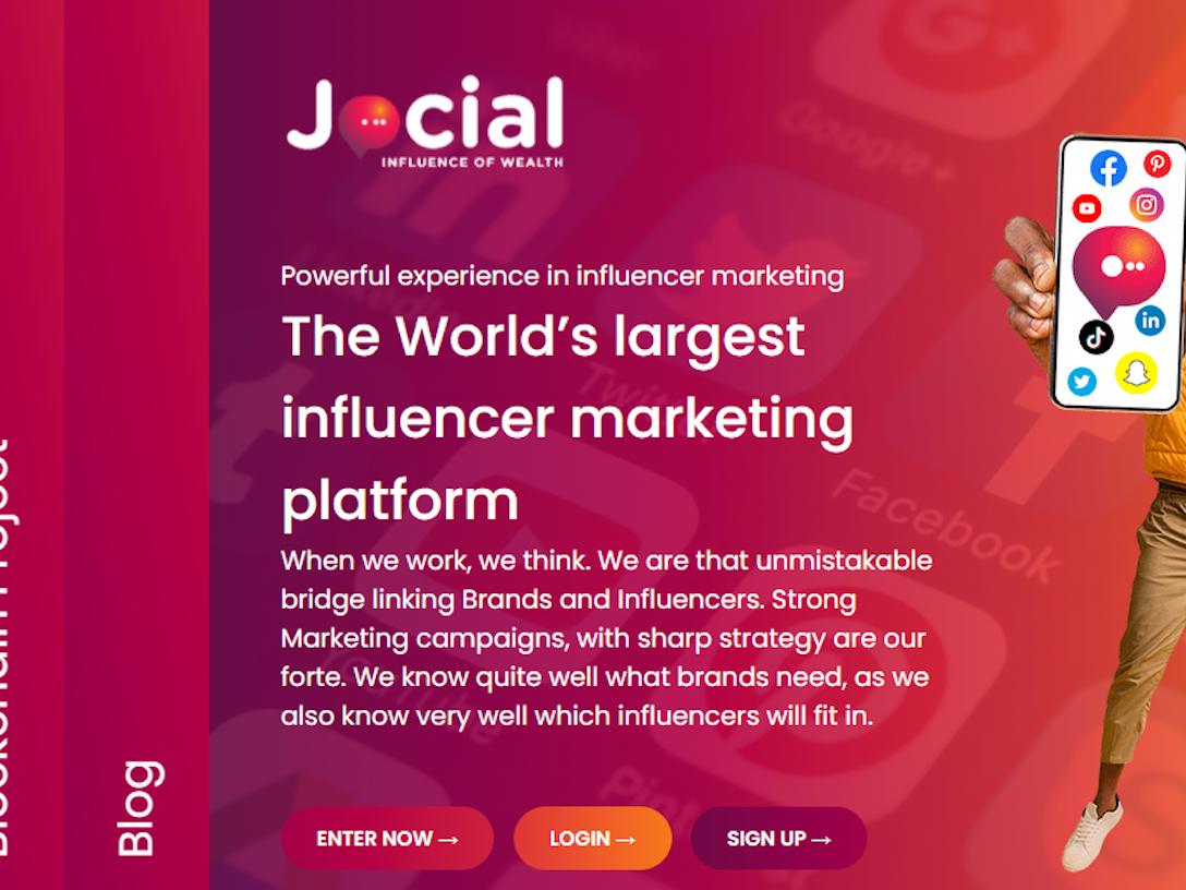 Jocial - Influencer Marketing Platform