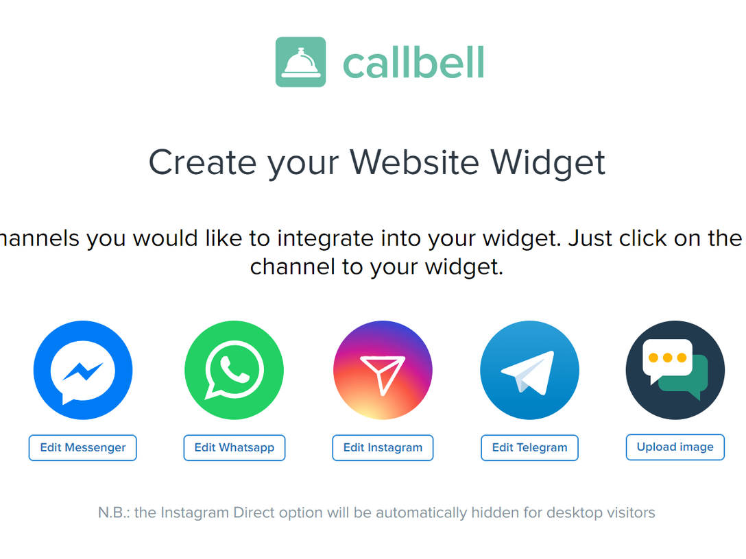 Callbell Chat Widget