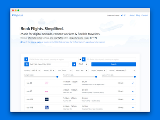 Flightlist