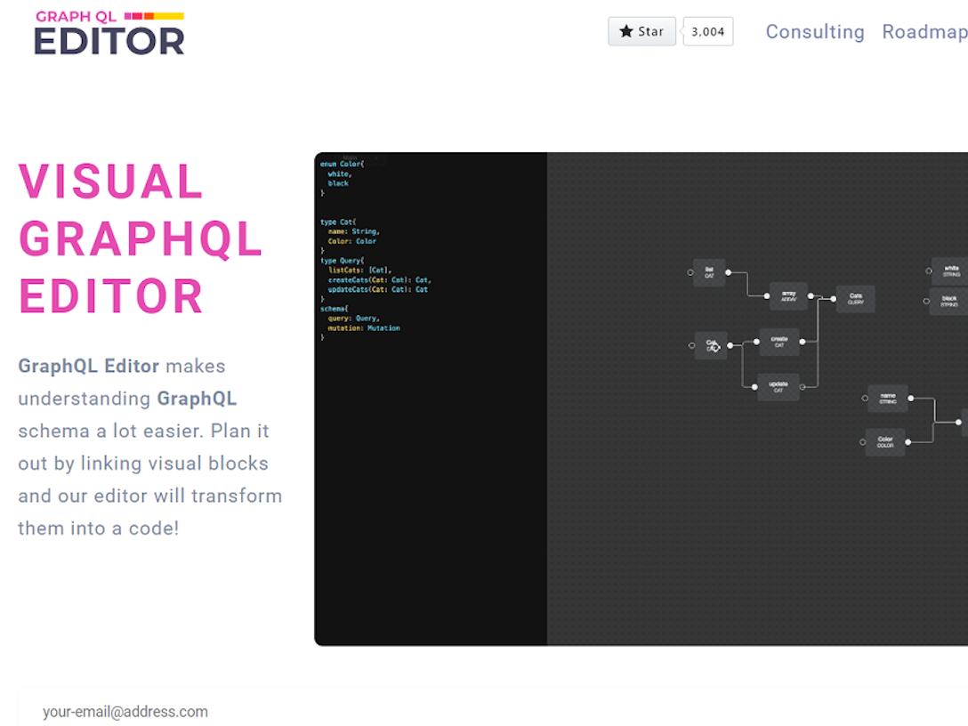 Visual GraphQL Editor