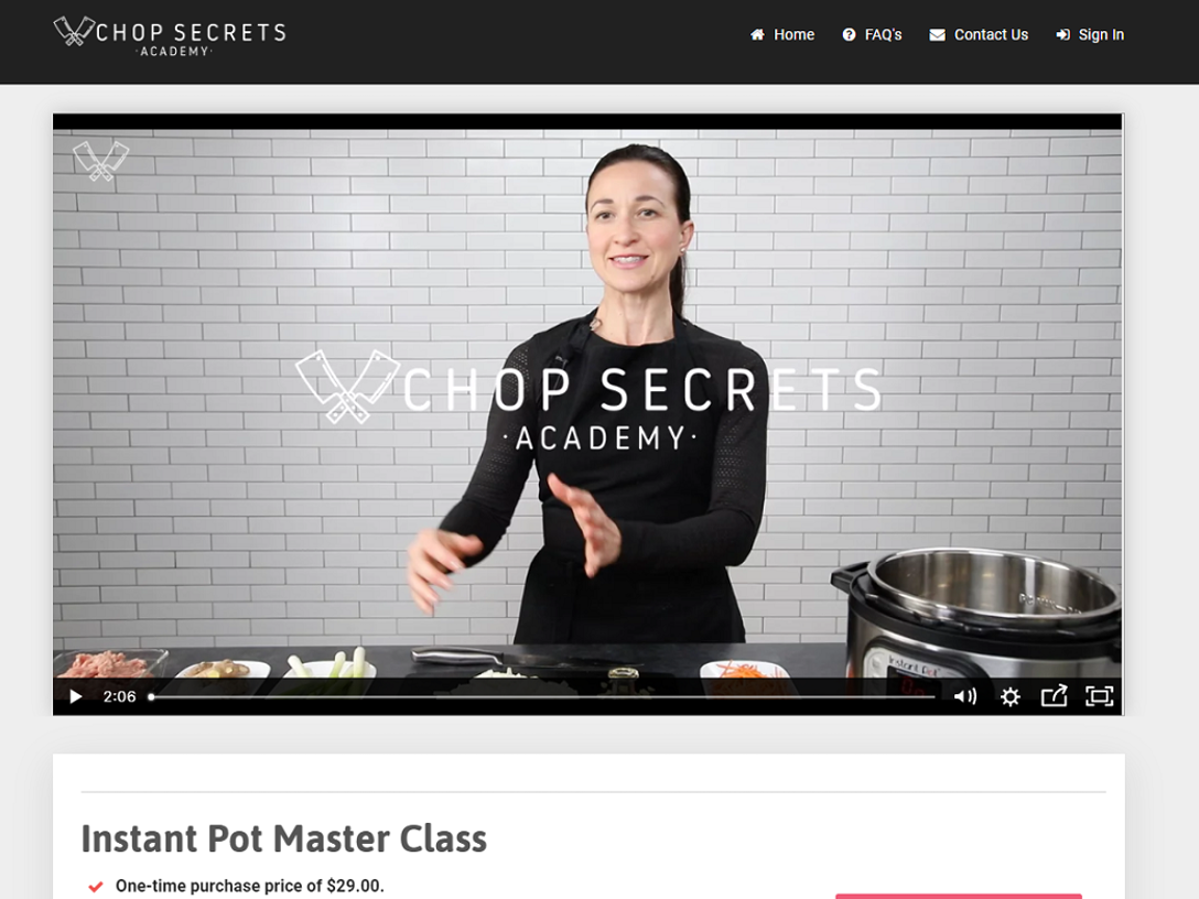 Instant Pot Master Class