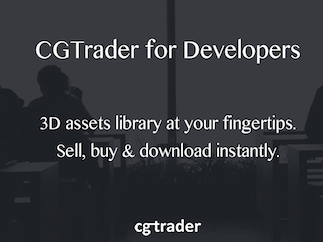 CGTrader API for developers