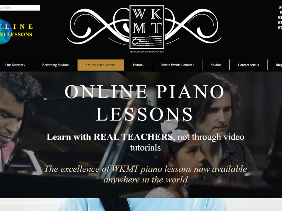 Online piano conservatoire