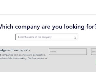 Investor Narrative