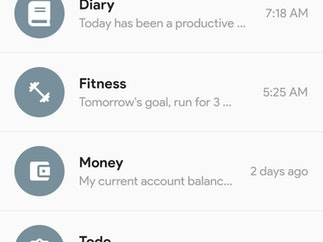Chat Journal - Chat-based Journal / Diary