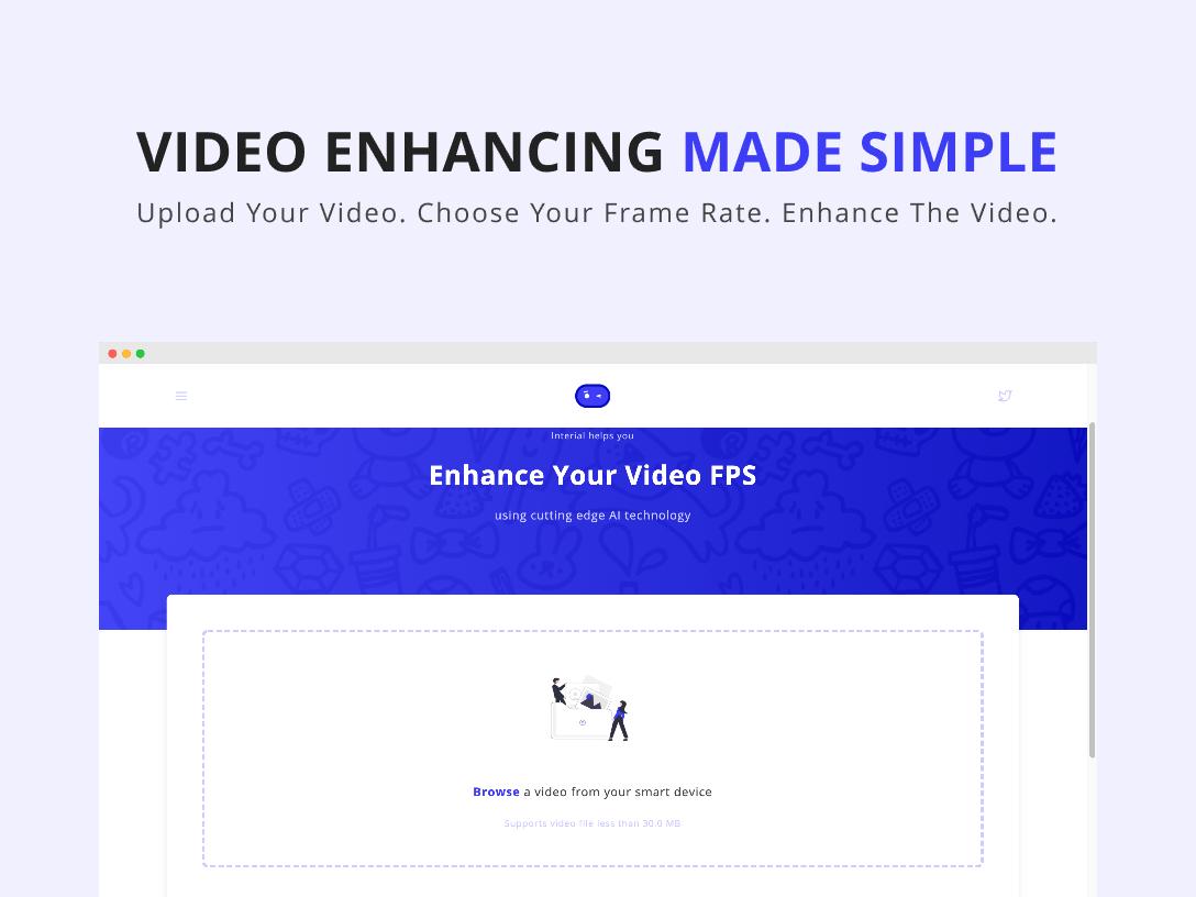 Interial: Video Enhancing Tool