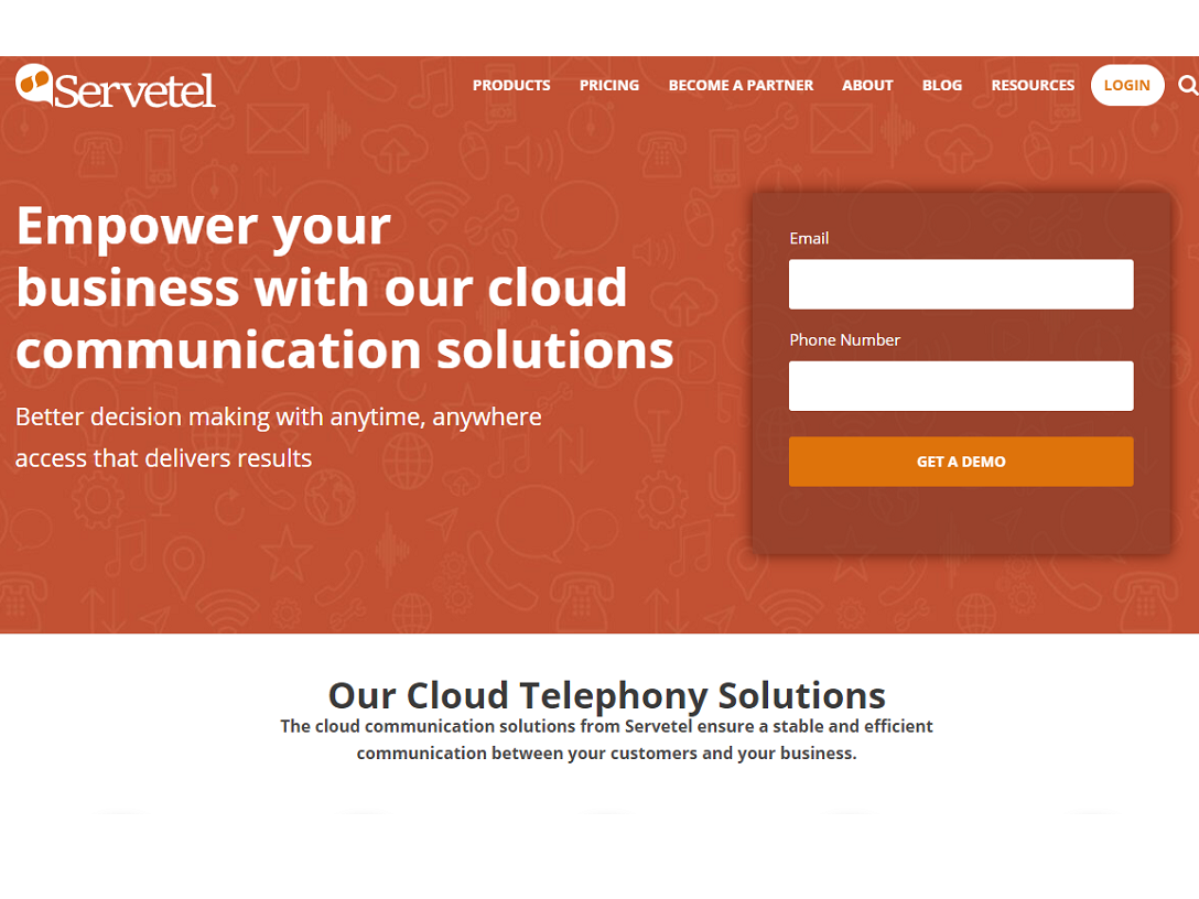 Servetel Cloud Telephony Solution